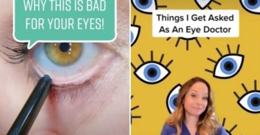 A doctor's viral TikTok video shows why you should avoid applying eyeliner to your waterline